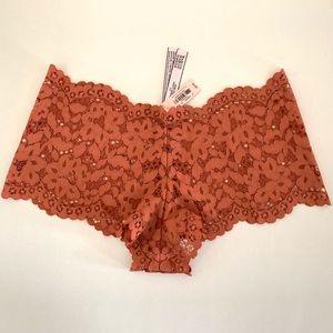 Victoria Secret Lace Shortie Underwear Size XS